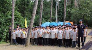 İBB'nin izci kampı başladı